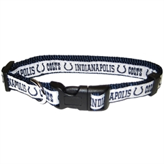 Mirage Pet Products Indianapolis Colts Collar Medium