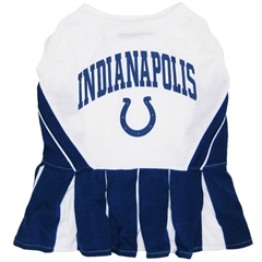 Mirage Pet Products Indianapolis Colts Cheer Leading XS