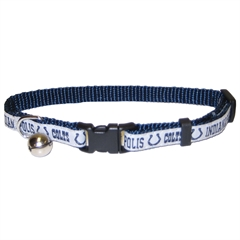 Mirage Pet Products Indianapolis Colts Cat Collar