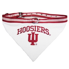 Mirage Pet Products Indiana Hoosiers Bandana Large