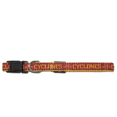 Mirage Pet Products Iowa State Cyclone Collar Large