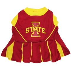 Mirage Pet Products Iowa State Cyclone Cheer Leading XS