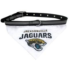 Mirage Pet Products Jacksonville Jaguars Bandana Large