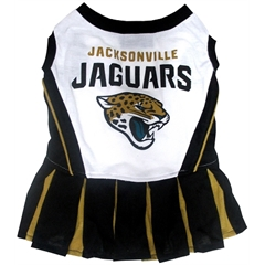 Mirage Pet Products Jacksonville Jaguars Cheer Leading MD