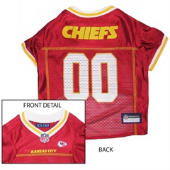 Mirage Pet Products Kansas City Chiefs Jersey XS