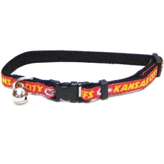 Mirage Pet Products Kansas City Chiefs Cat Collar