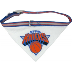 Mirage Pet Products New York Knicks Bandana Collar Small