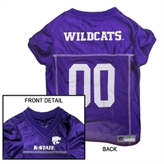Mirage Pet Products Kansas State Wildcats Jersey Medium