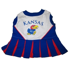 Mirage Pet Products Kansas Jayhawks Cheer Leading MD
