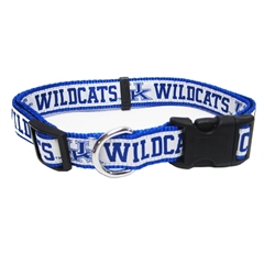 Mirage Pet Products Kentucky Wildcats Collar Medium