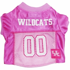 Mirage Pet Products Kentucky Wildcats Pink Jersey LG