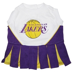 Mirage Pet Products LA Lakers Cheer Leader Small