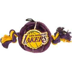 Mirage Pet Products LA Lakers Ball Toy