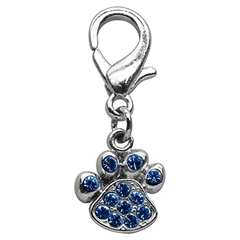 Mirage Pet Products Lobster Claw Paw Charm Blue