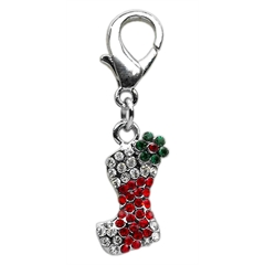 Mirage Pet Products Holiday lobster claw charms / zipper pulls Stocking .