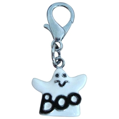 Mirage Pet Products Halloween Lobster Claw Charms/Zipper Pulls Ghost one size