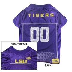 Mirage Pet Products LSU Tigers Jersey XS