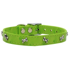 Mirage Pet Products Faux Ostrich Bone Lime Green 16