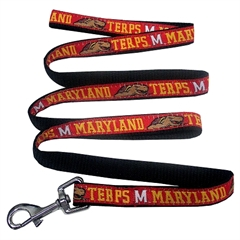 Mirage Pet Products Maryland Terrapins Leash Large