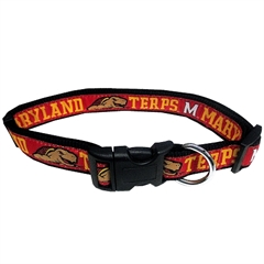 Mirage Pet Products Maryland Terrapins Collar Large