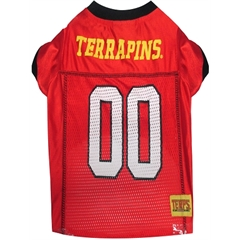 Mirage Pet Products Maryland Terrapins Jersey Large