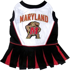 Mirage Pet Products Maryland Terrapins Cheer Leading MD