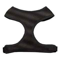 Mirage Pet Products Soft Mesh Harnesses Black Large