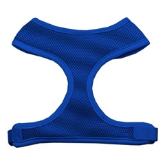 Mirage Pet Products Soft Mesh Harnesses Blue Medium