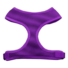 Mirage Pet Products Soft Mesh Harnesses Purple Medium