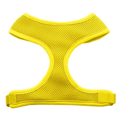 Mirage Pet Products Soft Mesh Harnesses Yellow Medium