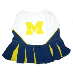 Mirage Pet Products Michigan Wolverines Cheer Leading MD