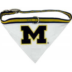 Mirage Pet Products Michigan Wolverines Bandana Small