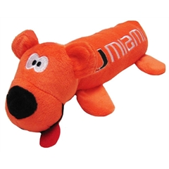 Mirage Pet Products Miami Hurricanes Tube Toy