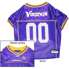 Mirage Pet Products Minnesota Vikings Jersey Small