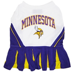 Mirage Pet Products Minnesota Vikings Cheer Leading SM