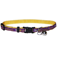 Mirage Pet Products Minnesota Vikings Cat Collar