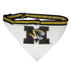 Mirage Pet Products Missouri Tigers Bandana Large