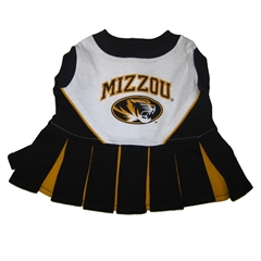 Mirage Pet Products Missouri Tigers Cheer Leading XS