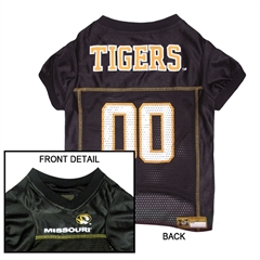 Mirage Pet Products Missouri Tigers Jersey Medium