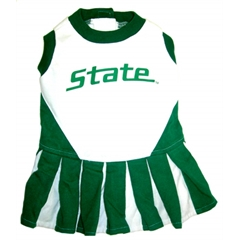 Mirage Pet Products Michigan State Spartans Cheer Leading XS