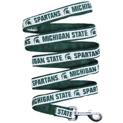 Mirage Pet Products Michigan State Spartans Leash Large