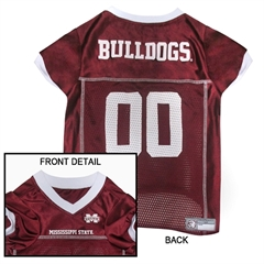 Mirage Pet Products Mississippi State Bulldogs Jersey Medium