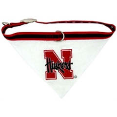 Mirage Pet Products Nebraska Corn Huskers Bandana Medium