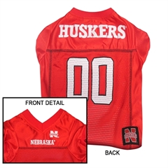 Mirage Pet Products Nebraska Corn Huskers Jersey XS