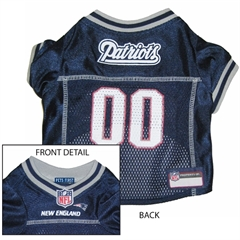 Mirage Pet Products New England Patriots Jersey Small
