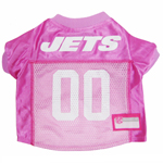 Mirage Pet Products New York Jets Pink Jersey LG