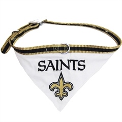 Mirage Pet Products New Orleans Saints Bandana Small