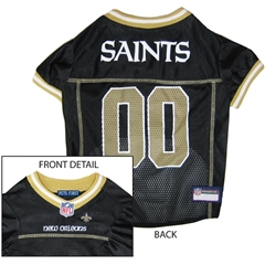 Mirage Pet Products New Orleans Saints Jersey Small