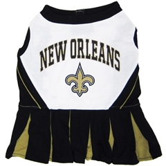Mirage Pet Products New Orleans Saints Cheer Leading SM