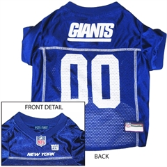 Mirage Pet Products New York Giants Jersey Medium